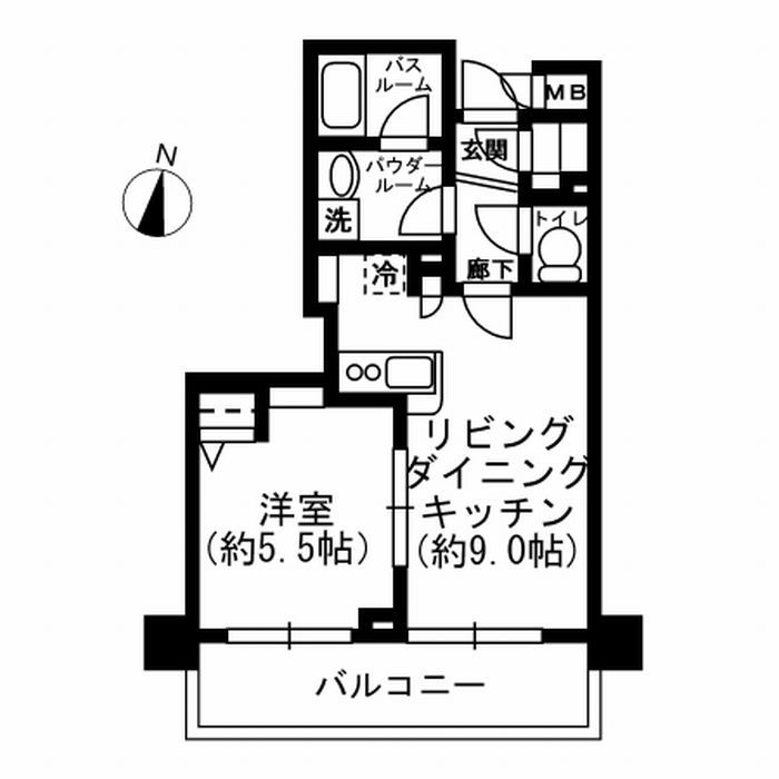 Apartment Rental Experts: Residia Kanda Higashi #0604 / Tokyo Apartment Rental